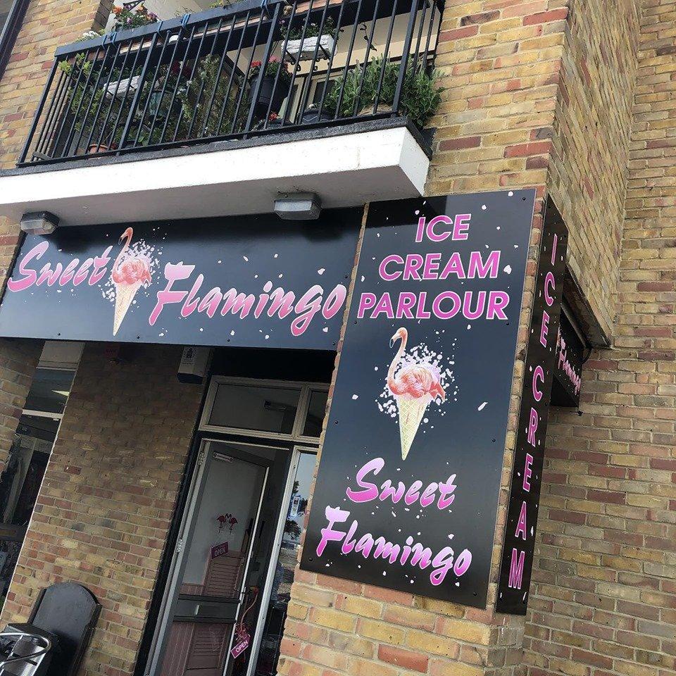 Sweet Flamingo Ice Cream Parlour